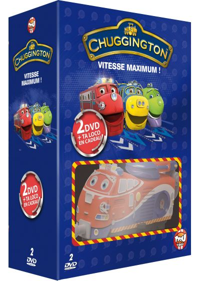 Chuggington - Vitesse maximum ! : Locos en action + La brigade de secours (Pack) - DVD