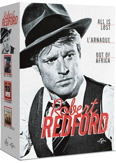 Robert Redford - All is Lost + L'arnaque + Out of Africa (Pack) - DVD