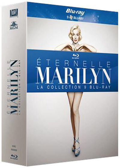 Eternelle Marilyn - La collection 9 Blu-ray - Blu-ray