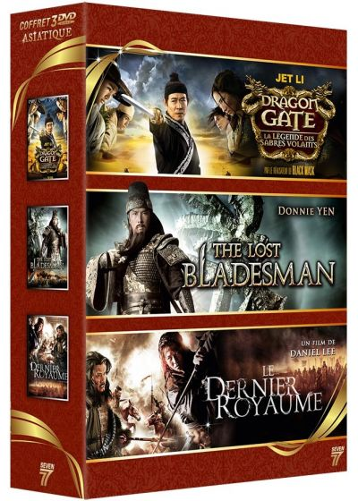 Asiatique : Dragon Gate - La légende des sabres volants + The Lost Bladesman + Le Dernier Royaume (Pack) - DVD