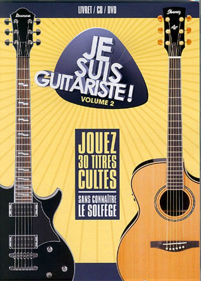 Je suis guitariste - Vol. 2 (+ 1 CD Audio) - DVD