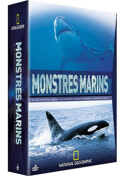 National Geographic - Coffret - Monstres marins (Pack) - DVD