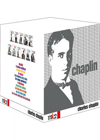 Chaplin - Coffret - 10 films / 8 courts métrages - DVD