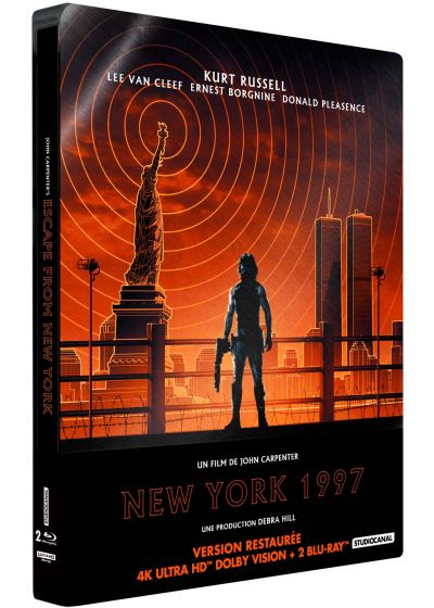 New York 1997 (4K Ultra HD + Blu-ray + Blu-ray bonus - Édition boîtier SteelBook) - 4K UHD