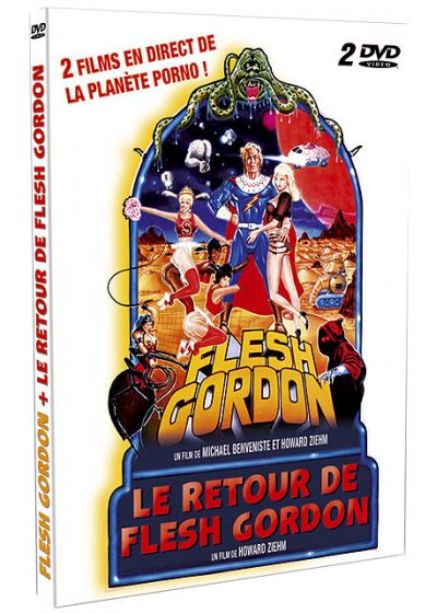 Flesh Gordon + Le retour de Flesh Gordon (Pack) - DVD