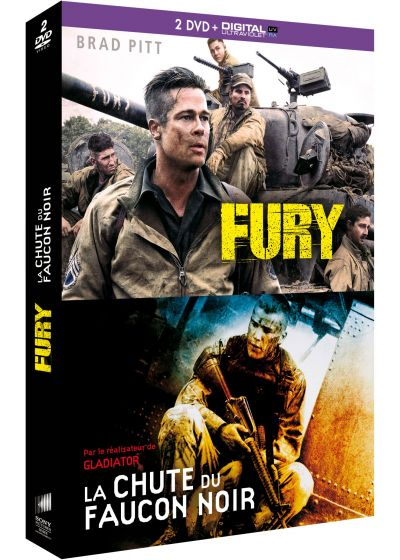 Fury + La chute du Faucon Noir (DVD + Copie digitale) - DVD