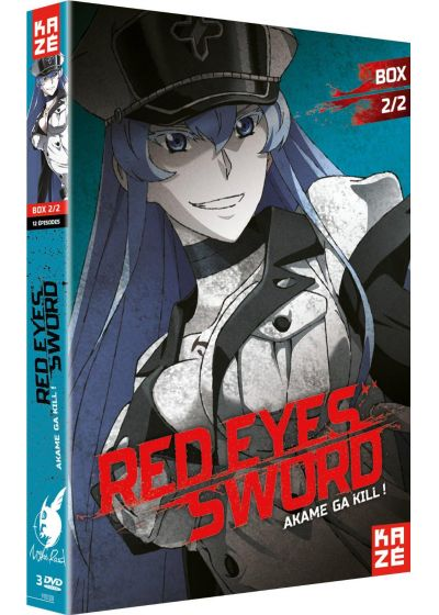Red Eyes Sword - Akame ga Kill ! - Box 2/2 - DVD