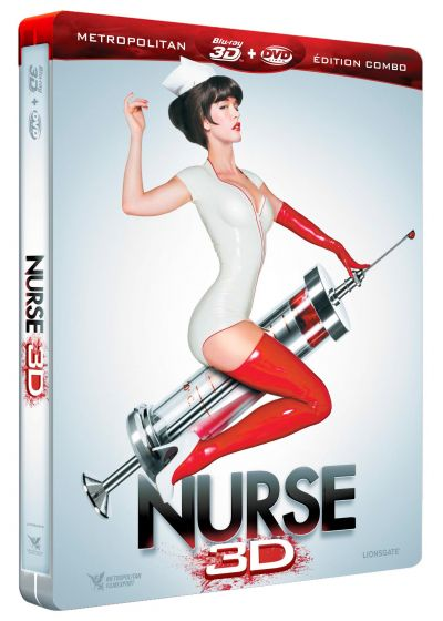 Nurse (Édition Collector Combo Blu-ray 3D + DVD) - Blu-ray 3D