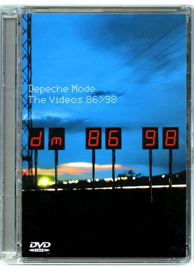 Depeche Mode - The Videos 86>98 - DVD