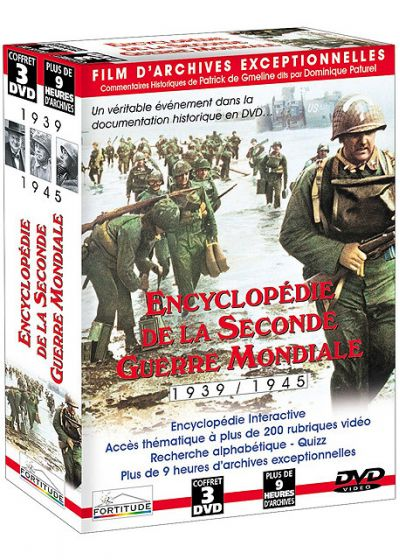 Encyclopédie de la Seconde Guerre Mondiale - 1939/1945 - DVD