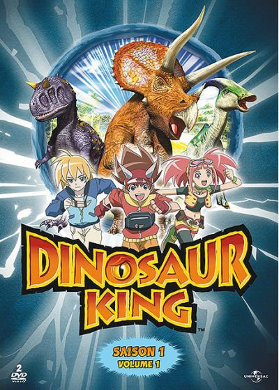 Dinosaur King - Saison 1 - Volume 1 - DVD