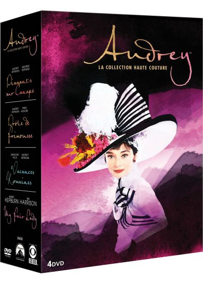 Audrey Hepburn Best of - Coffret 4 DVD (Pack) - DVD