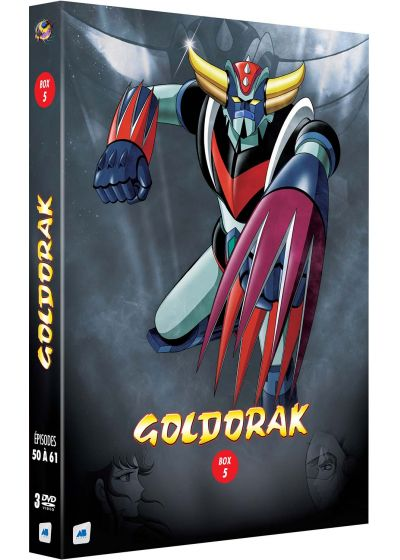 Goldorak - Box 5 - Épisodes 50 à 61 (Non censuré) - DVD