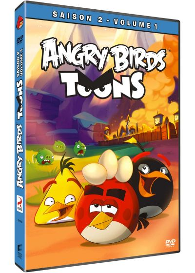 Angry Birds Toons - Saison 2, Vol. 1 - DVD