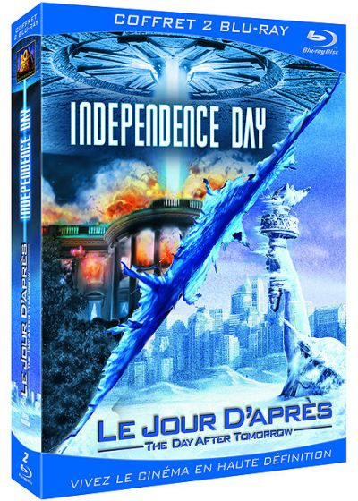 Le Jour d'après + Independence Day (Pack) - Blu-ray