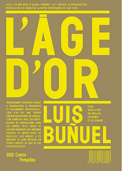 L'Age d'Or - DVD