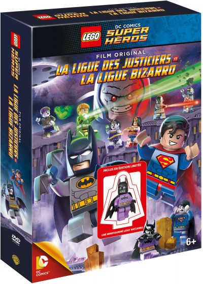 LEGO DC Comics Super Heroes : La Ligue des Justiciers vs Bizarro (+ Goodies) - DVD