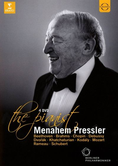 Menahem Pressler : The Pianist - DVD