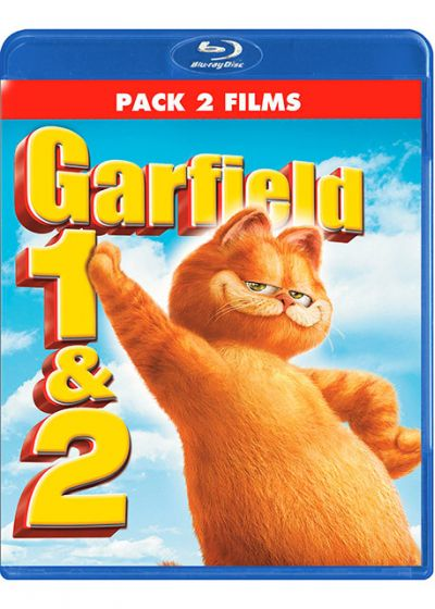 Garfield - Le film + Garfield 2 (Pack 2 films) - Blu-ray