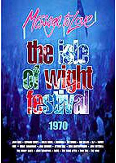The Isle of Wight Festival - Message To Love - DVD