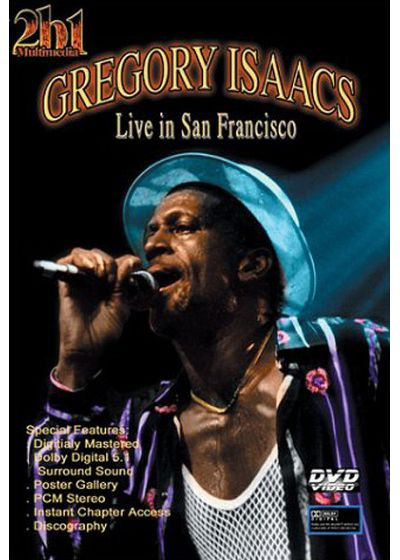 Isaacs, Gregory - Live in San Francisco - DVD