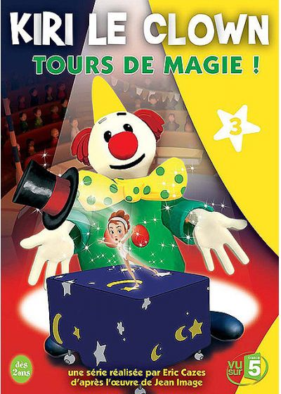 Kiri le clown - 3 - Tours de magie ! - DVD