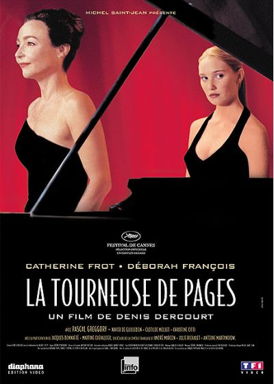 La Tourneuse de pages - DVD