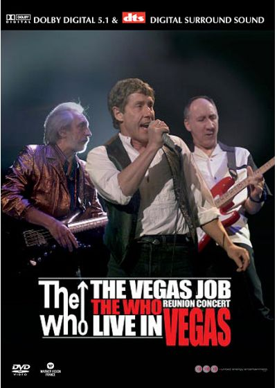 The Who : The Vegas Job Reunion Concert Live in Vegas - DVD