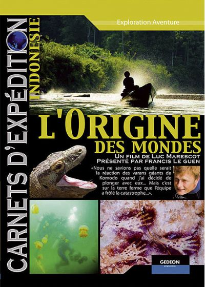 Carnets d'expédition - Indonesie : L'origine des mondes - DVD