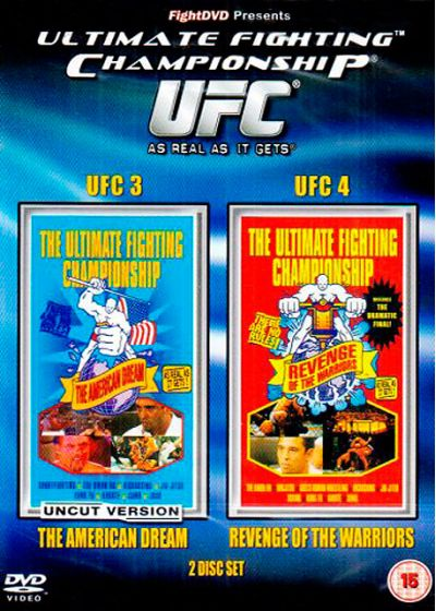 UFC 3 : The American Dream + UFC 4 : Revenge of the Warriors - DVD