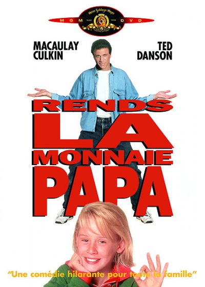 Rends la monnaie papa - DVD