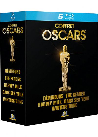 Coffret Oscars - Démineurs + Harvey Milk + The Reader + Winter's Bone + Dans ses yeux (Pack) - Blu-ray