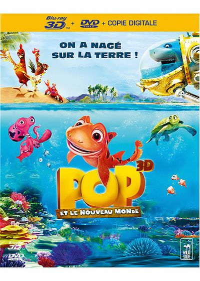 Pop et le nouveau monde (Combo Blu-ray 3D + DVD + Copie digitale) - Blu-ray 3D