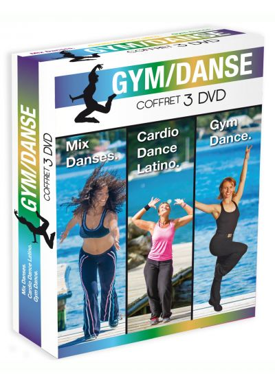 Coffret Gym-Dance : Mix Danses + Cardio Dance Latino + Gym Dance (Pack) - DVD