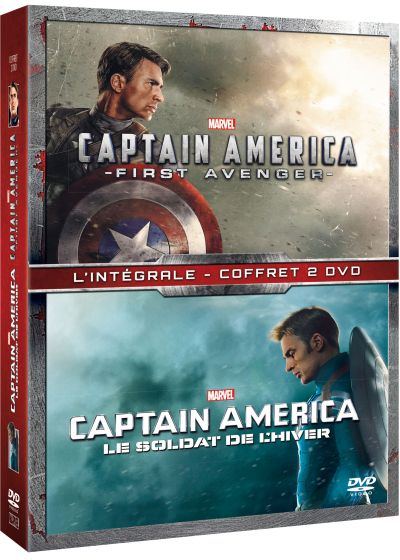 Captain America : The First Avenger + Le soldat de l'hiver - DVD