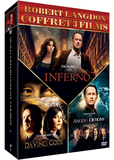 Robert Langdon - Da Vinci Code + Anges & démons + Inferno (DVD + Copie digitale) - DVD