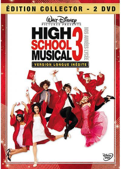 High School Musical 3 - Nos années lycée (Édition Collector - Version Longue) - DVD