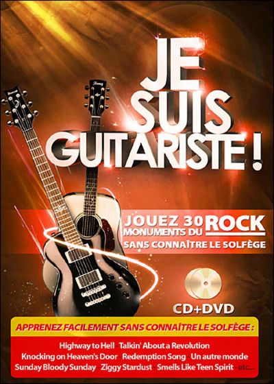 Je suis guitariste ! (DVD + CD) - DVD