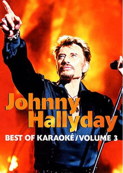 Johnny Hallyday - Best of karaoké - Volume 3 - DVD