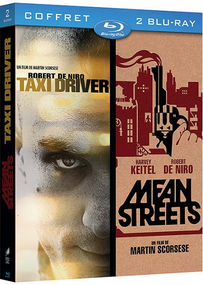 Taxi Driver + Mean Streets (Pack) - Blu-ray
