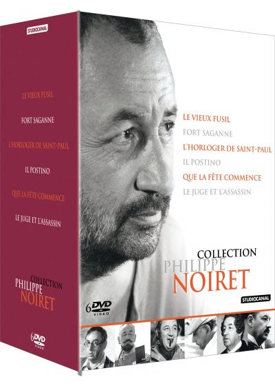 Collection Philippe Noiret - Coffret 6 DVD (Pack) - DVD