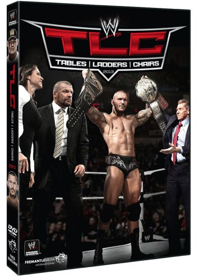 TLC (Tables, Ladders, Chairs) 2013 - DVD