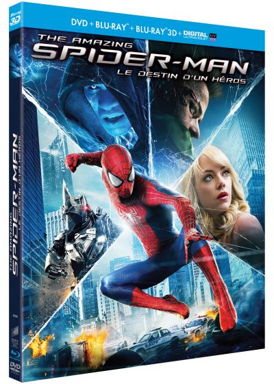 The Amazing Spider-Man 2 : Le destin d'un héros (Combo Blu-ray 3D + Blu-ray + DVD + Copie digitale) - Blu-ray 3D