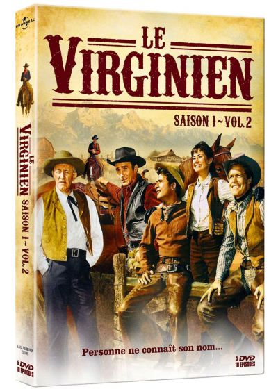 Le Virginien - Saison 1 - Volume 2 - DVD