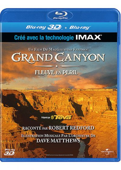 Grand Canyon, fleuve en péril (Blu-ray 3D & 2D) - Blu-ray 3D
