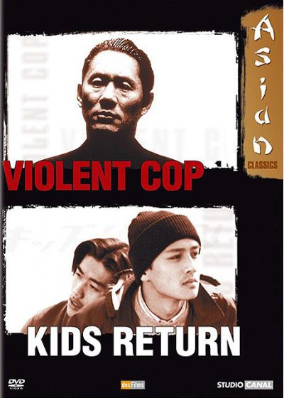 Violent Cop + Kids Return - DVD