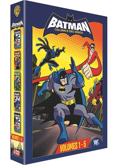 Batman : L'alliance des héros - Volumes 1 - 5 - DVD