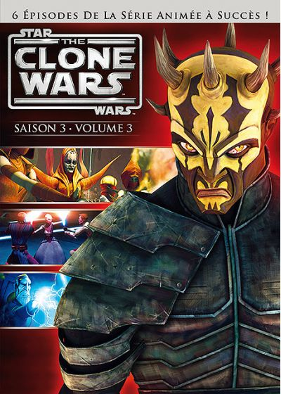 Star Wars - The Clone Wars - Saison 3 - Volume 3 - DVD