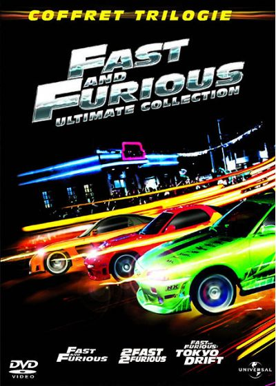 Fast and Furious - Coffret Trilogie : Fast and Furious + 2 Fast 2 Furious + Fast & Furious : Tokyo Drift (Ultimate Edition) - DVD