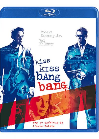 Shane Black's Kiss Kiss Bang Bang - Blu-ray